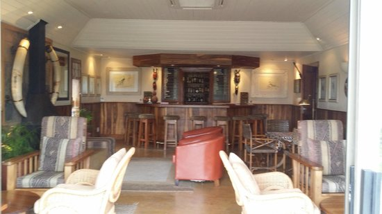 MalaMala Sable Camp: bar area