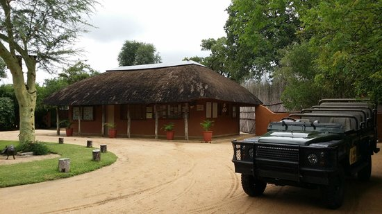 MalaMala Sable Camp: guides quarters maybe?