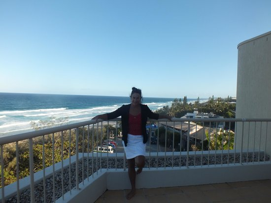 Costa Nova Holiday Apartments : Ocean view from terrace South