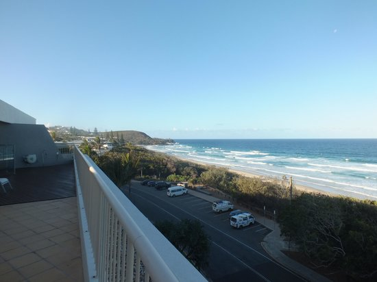 Costa Nova Holiday Apartments: Ocean view from terrace Norht