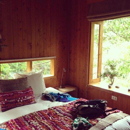 Entre Hielos Lodge: nuestra habitacion