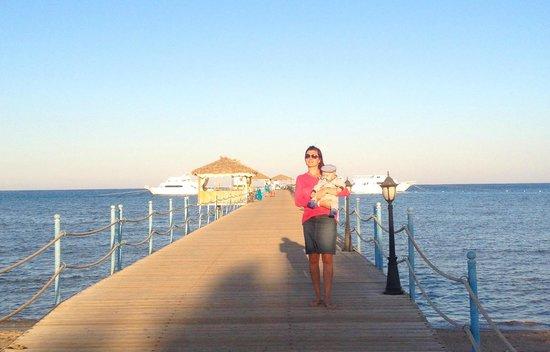 Amwaj Blue Beach Resort & Spa: Nice view