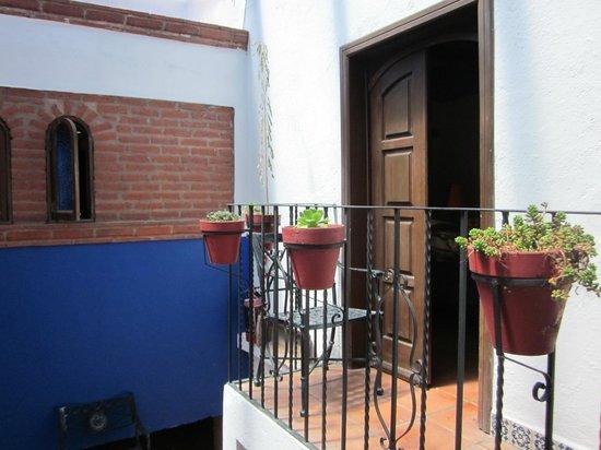 La Casa Azul: Puerta Habitación Pensamientos
