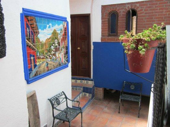 La Casa Azul: Puerta Habitación Vagón