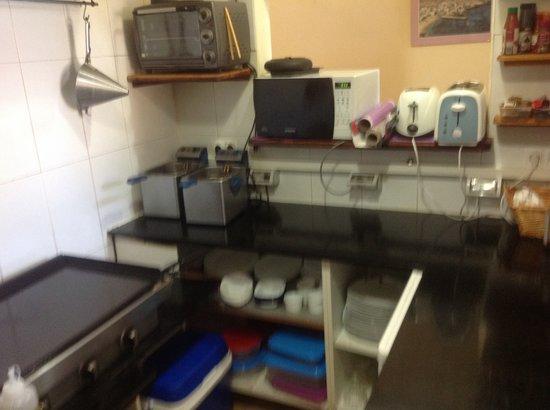 An Caisteal Bar & Cafe: Kitchen