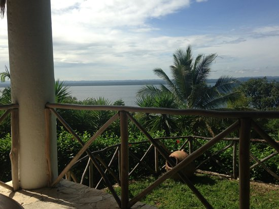 La Lancha Lodge: View from the restaurant