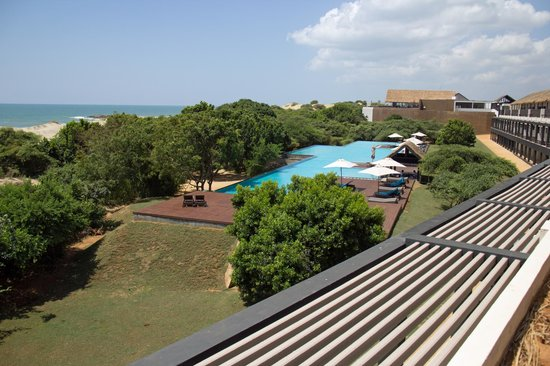 Jetwing Yala: View from thesundeck of  room 323
