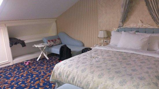 Kupeli Palace Hotel: Unser zimmer
