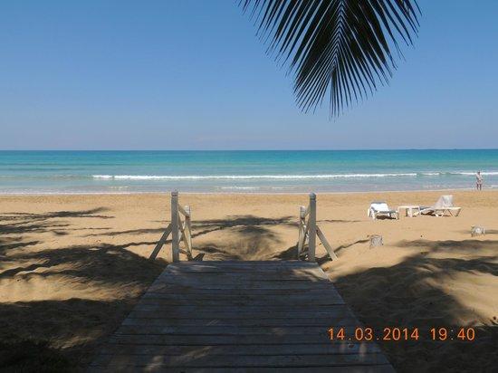 Casa Coson: La playa...