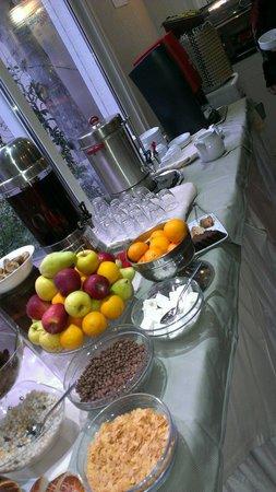 Kupeli Palace Hotel: Frühstück