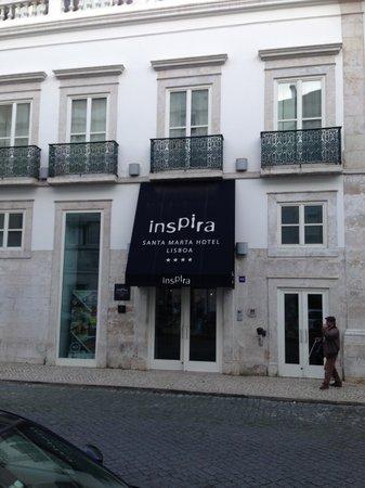 Inspira Santa Marta Hotel : facade du inspira hotel