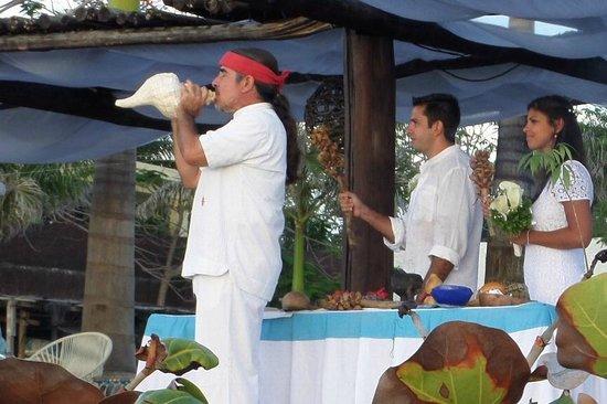 Hotel B Cozumel: wedding