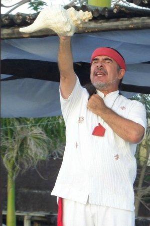 Hotel B Cozumel: Mayan wedding