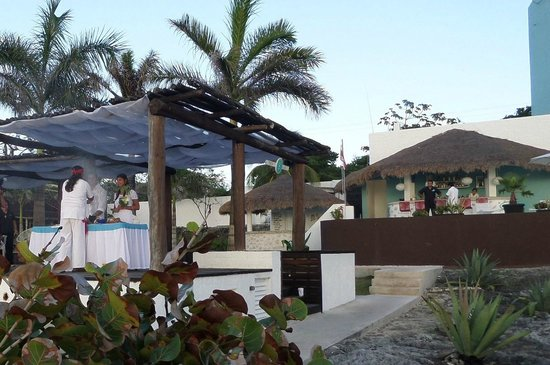 Hotel B Cozumel: wedding