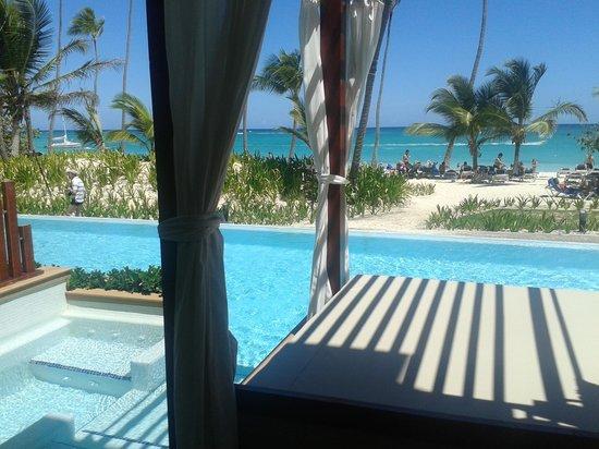 Grand Palladium Bávaro Suites Resort & Spa: Balkon mit Meerblick