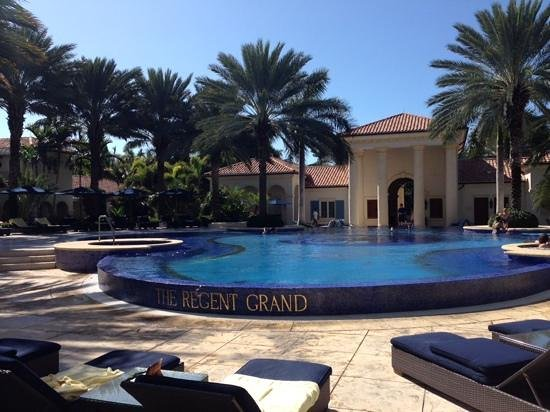 The Regent Grand: pool view
