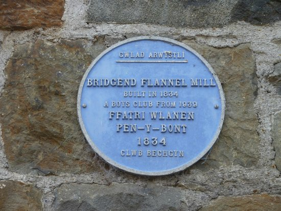 Trewythen Hotel: Blue plaque