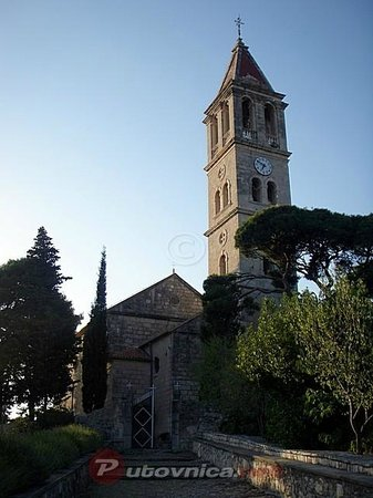 Jezera, Croatie : Parish church