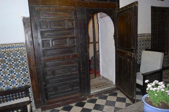Dar Mouassine: Door to our room