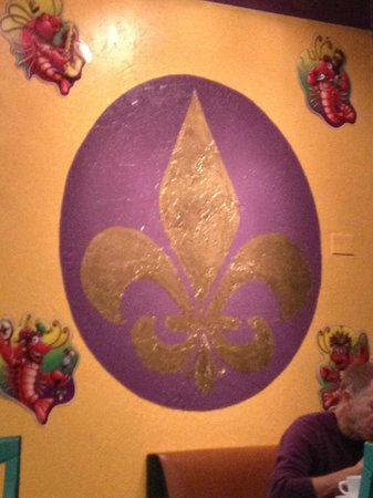 Seafood Seller & Cafe : Awesome New Orleans Decor