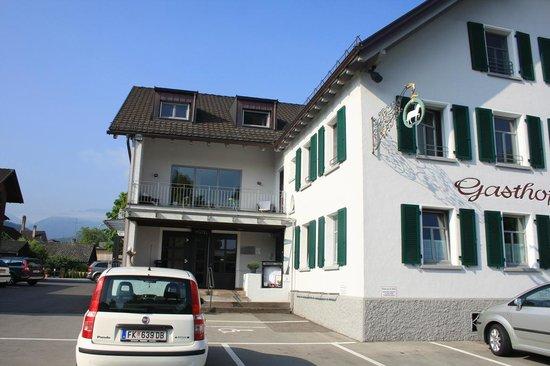 Schafle Hotel: entrata