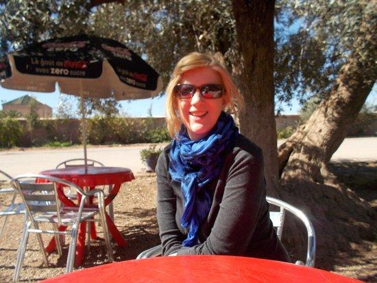 Menara Gardens and Pavilion : In the grove