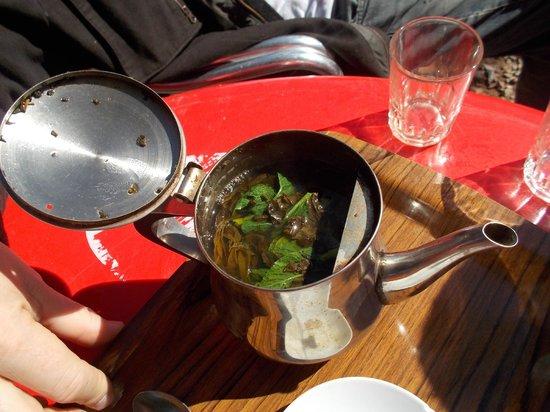 Menara Gardens and Pavilion : Mint tea