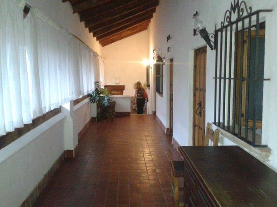 Posada de la Mision : pasillos