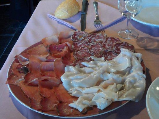 Da Pippi: piatto salumi