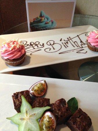 Radisson Blu Edwardian Hampshire Hotel : Birthday greeting