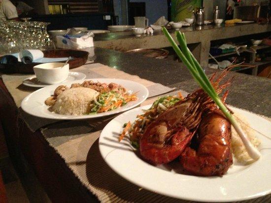 Cormaran Beach Club: Rice & Seafood