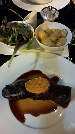 Le First : Beef Steak...French style