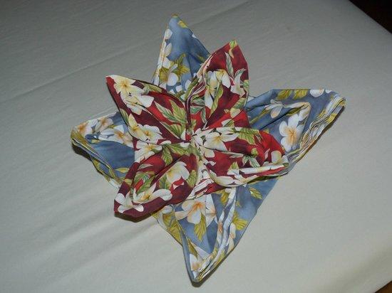 Koh Tao Cabana : Fleur sur le lit