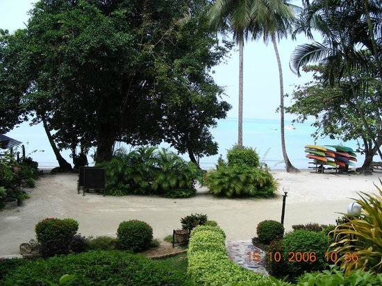 Sea View Resort & Spa Koh Chang: Beautiful view from beach area
