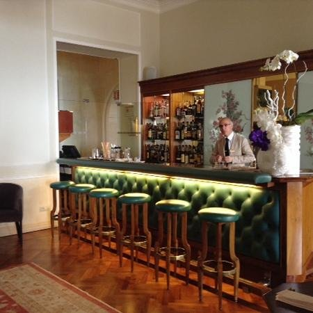 Royal Hotel Sanremo: hotel bar
