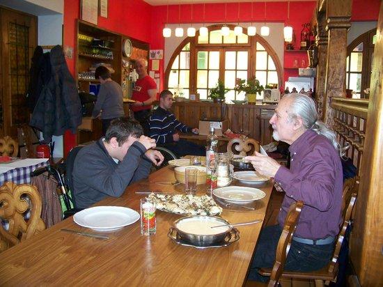 Le Schenkenberg : Un de nos repas