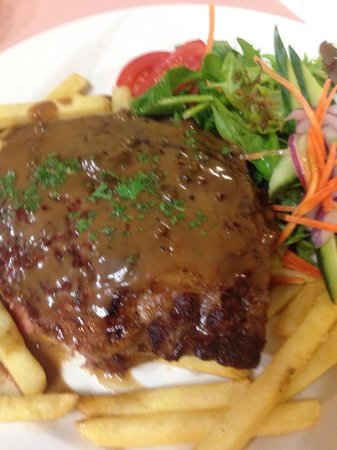 Bayside Inn: Scotch Fillet cooked perfectly