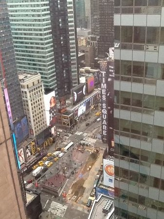 Crowne Plaza Times Square Manhattan: view from our room
