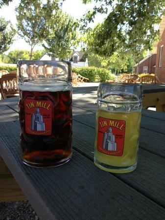 Tin Mill Brewery : Oktoberfestbier and Radler