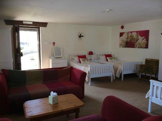 The Heathfield Inn: Family room on the ground floor