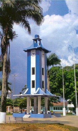 Madre de Dios Region, Peru: Plaza de armas de Puerto Maldonado.