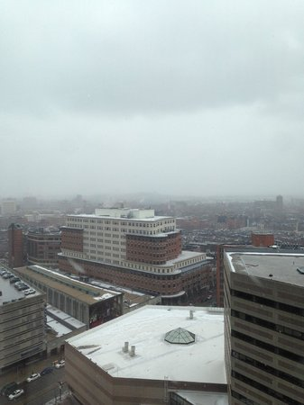 The Westin Copley Place, Boston: A room with a view of the mall.