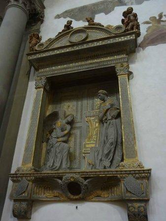 Basilica di Santa Croce: Tumba de Donatello