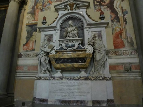 Basilica di Santa Croce: Tumba de Galileo Galilei