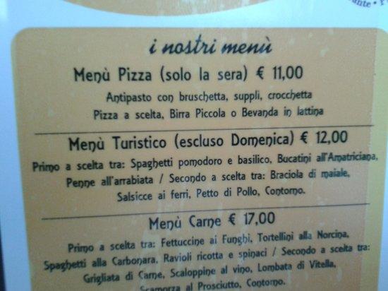Eredi di Baldazzi Renato: menù carne