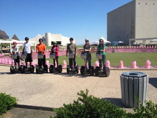 SegCity Guided Segway Tours: Pink water for breast cancer awareness week