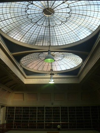 The Literary & Philosophical Society: Ceiling