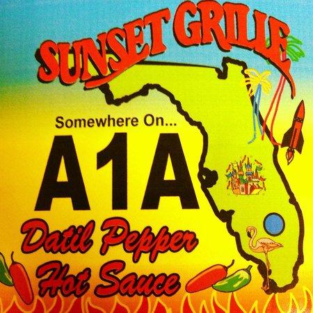 Sunset Grille: Datil Sauce!