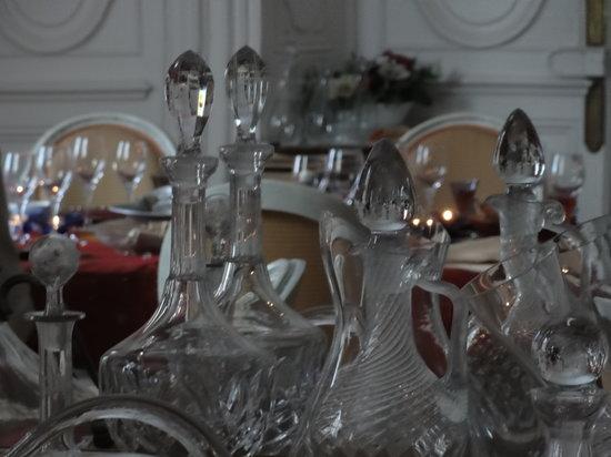 Au Manoir des Forges : Manoir des Forges: la salle à manger