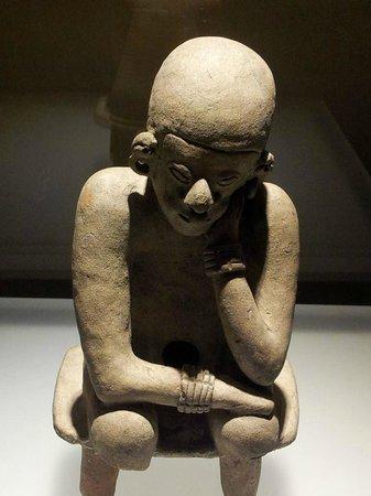 Museo del Oro Zenu : Museo  del  Oro  -  Meditação